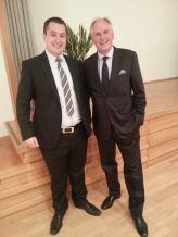 Mit dem ehemaligen Schweizer Botschafter Thomas Borer
