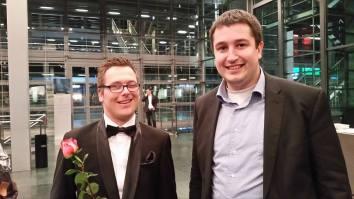 An der Mister Handicap Wahl 2014 mit Finalist Bonifaz Kühne
