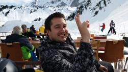 In den Skiferien in Adelboden (Aprés Ski)