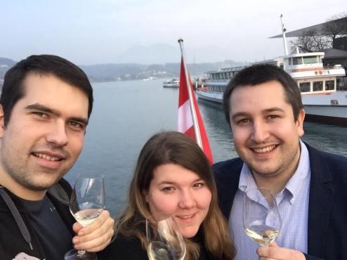 Degustation von Schweizer Weinen auf dem Luzerner Wyschiff